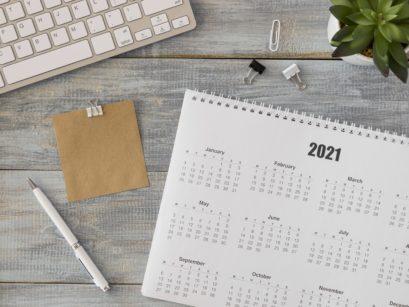 Buchhaltungskalender 2021